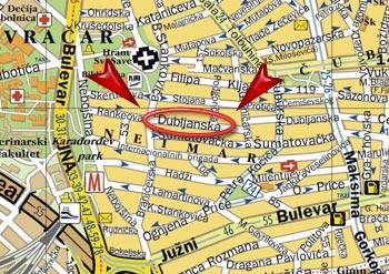 hram svetog save mapa Navigator   potrosni materijal i reciklaza tonera hram svetog save mapa